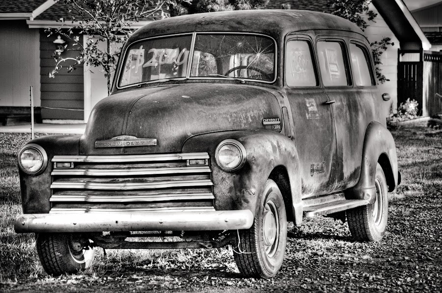 Old Chevy by Michael Connor - Transportation Automobiles (  )