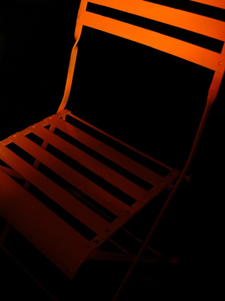 Orange chair di babi83
