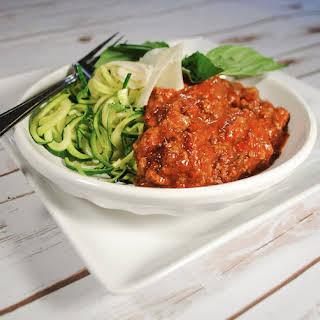 Slow Cooker Slow Roasted Tomato Spaghetti Sauce.