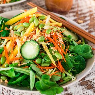 Asian Salad with Sesame Ginger Vinaigrette