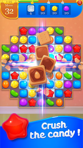 Candy Bomb 2 - New Match 3 Puzzle Legend Game  captures d'écran 1