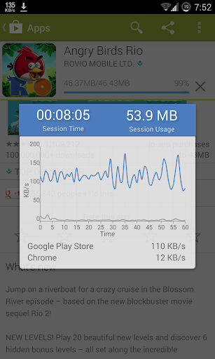 Screenshot for Internet Speed Meter in Hong Kong Play Store