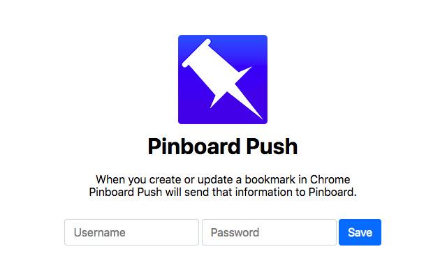 Pinboard Push