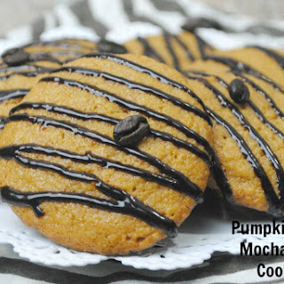 Pumpkin Spice Mocha Latte Cookies.