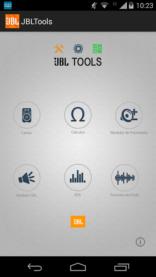 JBLTools- screenshot