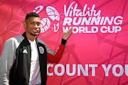 SA sprinter Wayde van Niekerk during the launch of the Vitality Running World Cup in Johannesburg yesterday. He says he will be ready for the Olympics in July. /  Lee Warren/Gallo Images