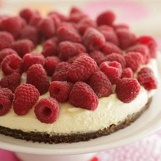 Chocolate Ripple Raspberry Tart