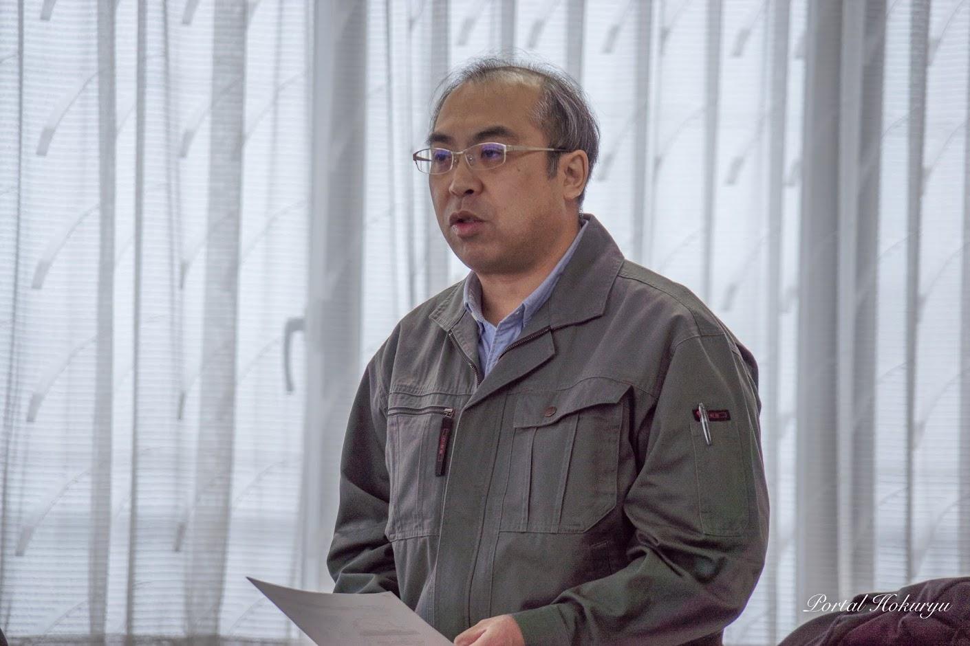農業改良普及センター・桂川 専門主任