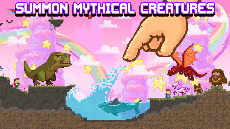 The Sandbox Evolution - Craft a 2D Pixel Universe! Screenshot 4