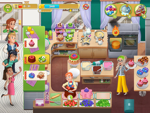 Cooking Diaryu00ae: Best Tasty Restaurant & Cafe Game apkslow screenshots 16