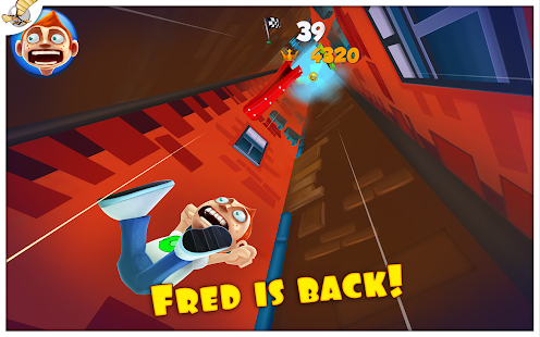 Super Falling Fred- screenshot thumbnail