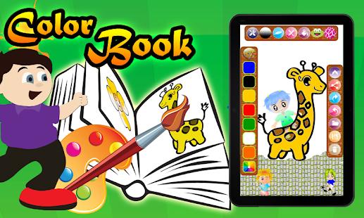 color book for kids lite screenshot thumbnail - Color Book