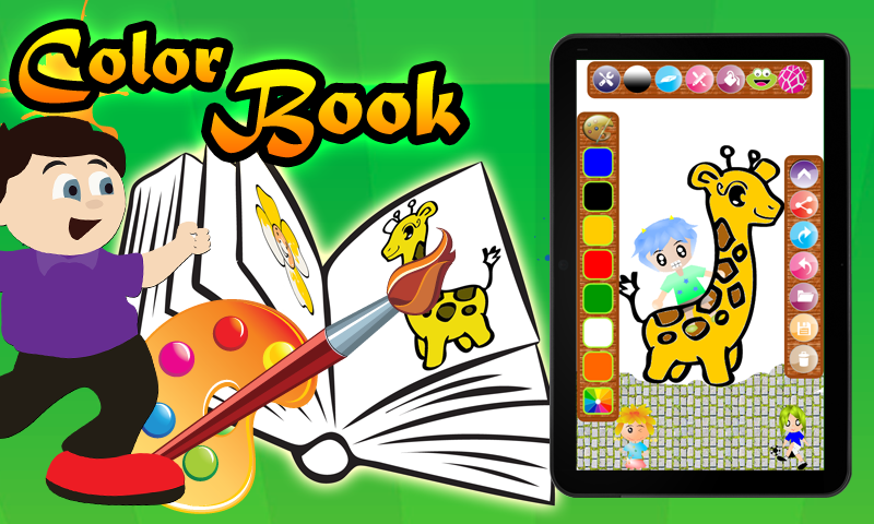 Color Book for Kids Lite on Google Play Reviews | Stats