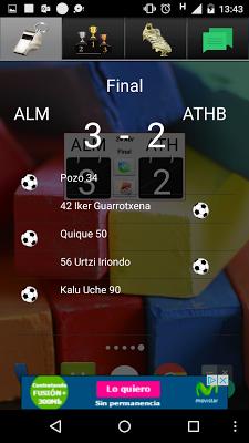 Widget League Adelante 2016/17 - screenshot