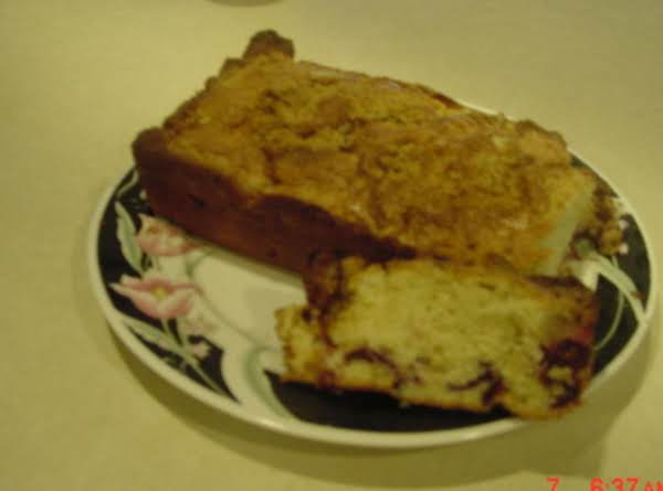 Plum Bread Recipe
