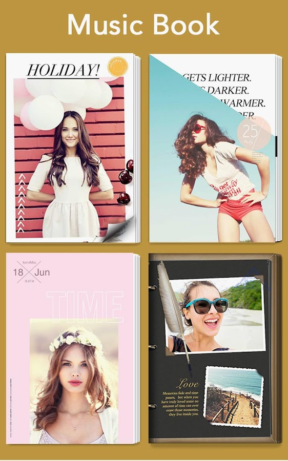 Screenshots of Photo Collage - InstaMag for iPhone
