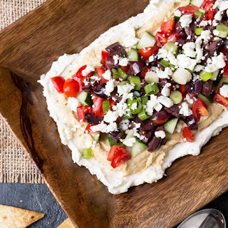 Make Ahead Layered Greek Dip