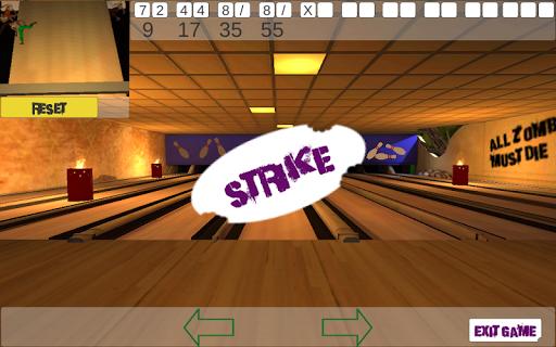 10 Zombie Bowling screenshots 7