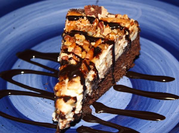 Brownie Turtle Cheesecake Recipe