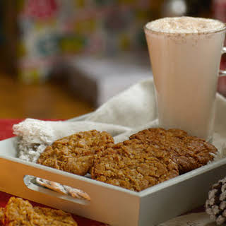 Ginger And Oat Cookies.