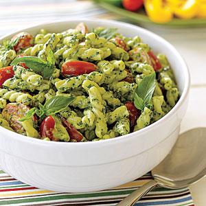 10 Best Healthy Pesto Pasta Salad Recipes