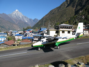 Photo: Take off from Lukla