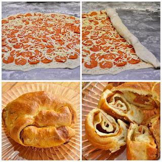 Pepperoni Pizza Bread.