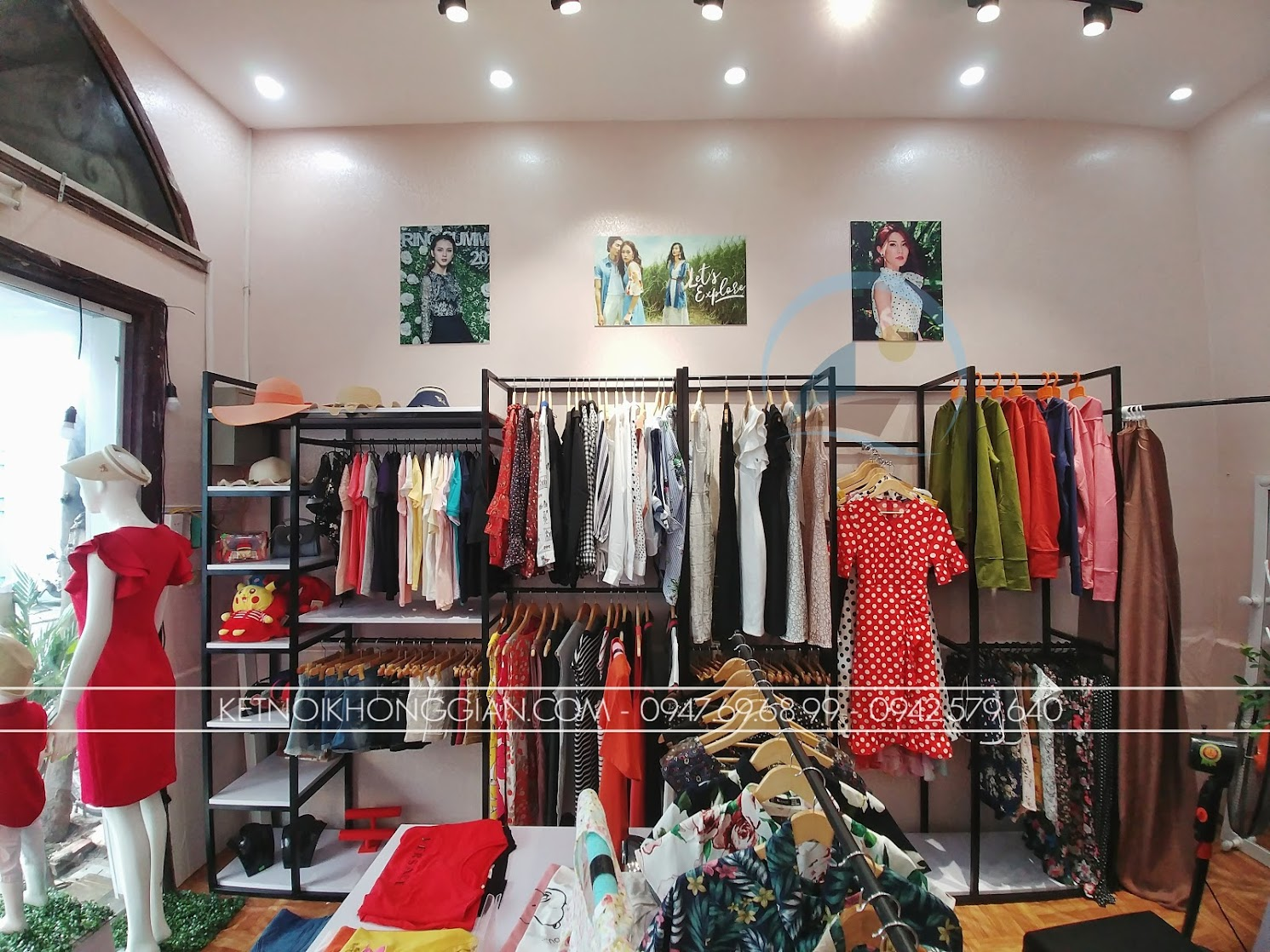 Thiết kế shop thời trang 3