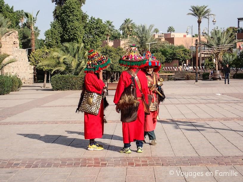 Marrakech - porteurs d'eau