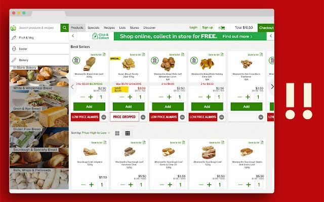 Supermarket AdBlocker (Australia)