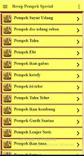 Resep Pempek Spesial - náhled