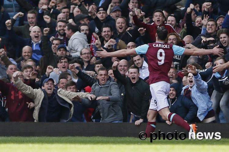 Andy Carroll s'éloigne de Chelsea et des terrains