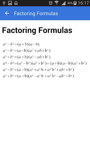 All Math Formulas 1.9 screenshots 4