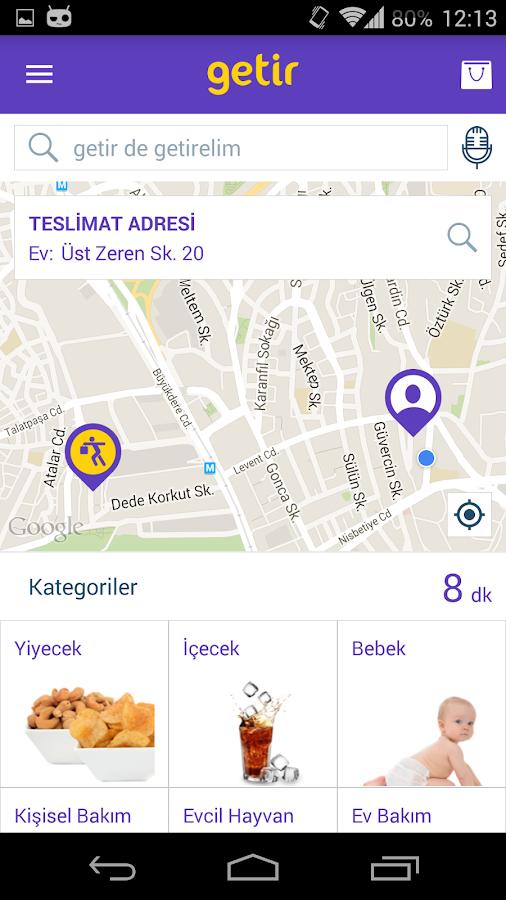 getir- screenshot