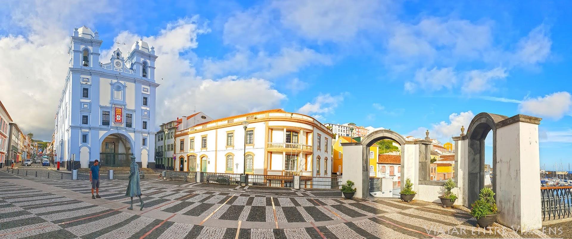 Visitar Angra do Heroísmo, na ilha Terceira