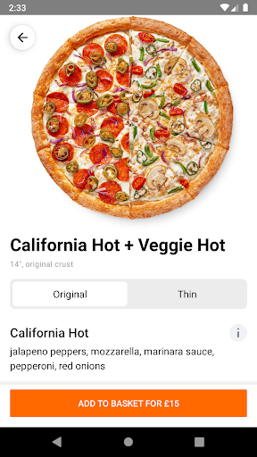 Dodo Pizza 7.4.1 Screenshots 4