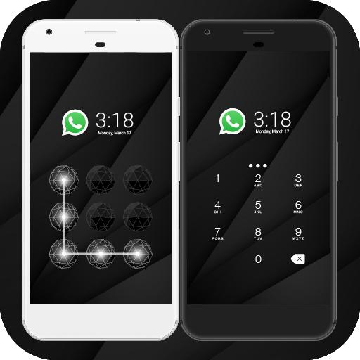 cool black cm security theme google playstore revenue download