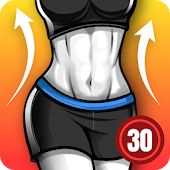 Fat Burning Workouts - Lose Weight Home Workout Icon