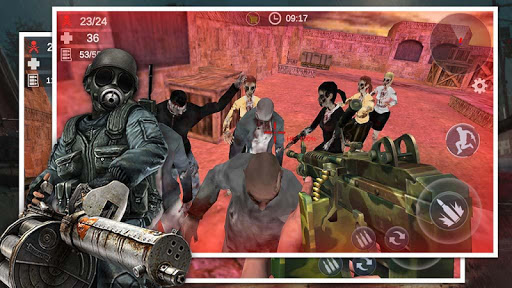 Télécharger Gratuit Zombie Survival Shooter: 3D FPS Kill Hunting War APK MOD (Astuce) screenshots 1