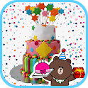 Birthday Camera Photo Stickers icon
