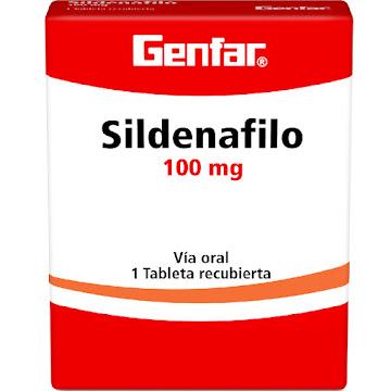Sildenafil Genfar 100Mg   Tableta Caja X1Tab.