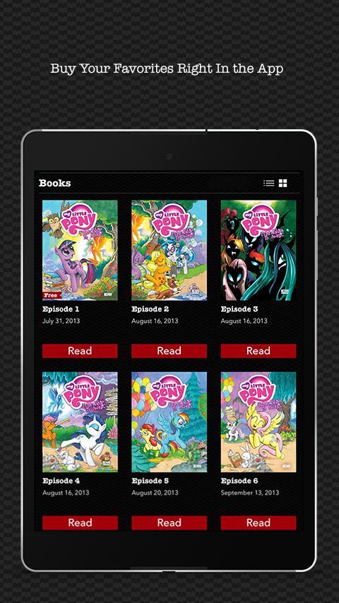 Madefire Comics & Motion Books screenshot #9