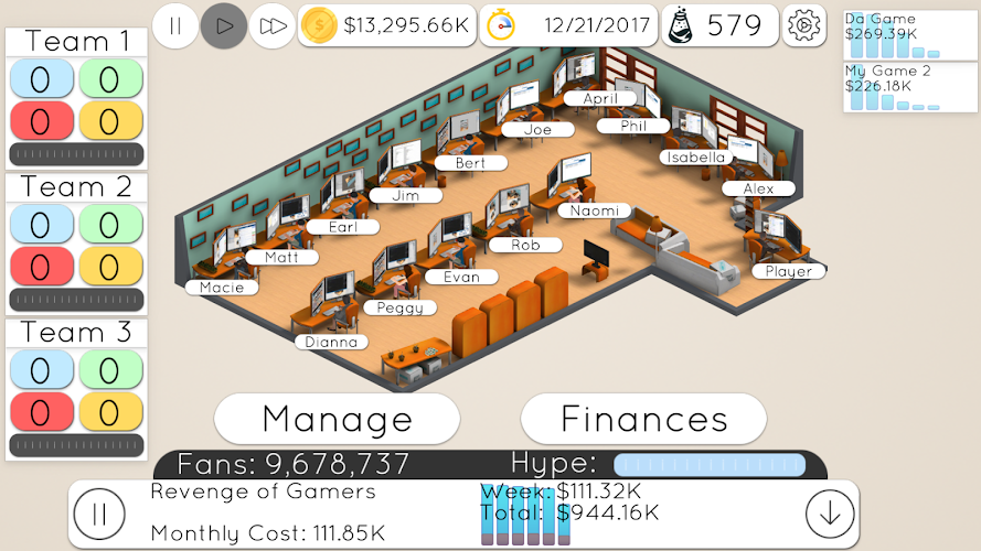 Game Studio Tycoon 2 v2.2 APK - Cover