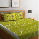 Get up to 55% Off on Double Bed Bedsheets only at Wooden Street at Minimal Cost