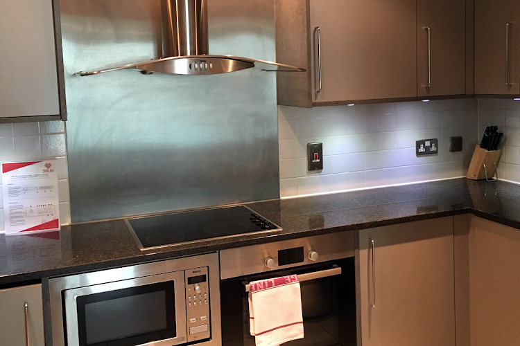 Fully equipped kitchen at Vauxhall Executive