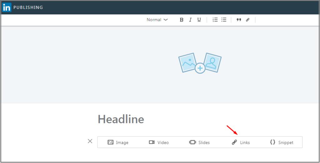LinkedIn publisher