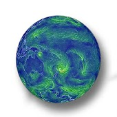 Earth Live Wind Map and Weather (Spot Hurricane)