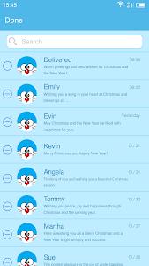 Download Messaging 7 Theme for Doraemon APK latest version