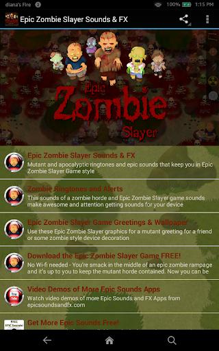 Epic Zombie Slayer Sounds FX