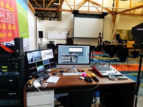 Photo: Video recording station